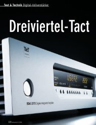 Test & Technik Digital-Vollverstärker - MW-AUDIO