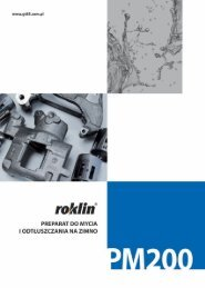 Karta techniczna Roklin PM200