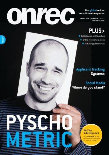 Issue 130 - February 2012 - Online Recruitment Magazine