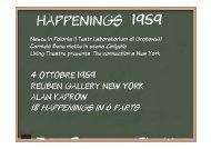 HAPPENINGS 1959 - CIRMA