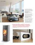 Gemütliche Stunden und wohlige Wärme – die neusten Kamine und ... - Page 7