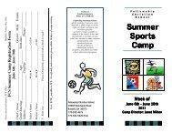 Janet Milton's Summer Sports Camp - Fellowship Christian School