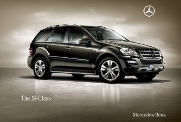 The M - Class - Mercedes-Benz