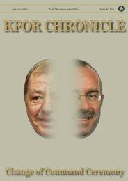 KFOR Chronicle - Special Edition - ACO - Nato
