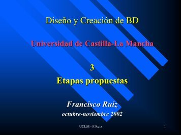 campo - Grupo Alarcos - Universidad de Castilla-La Mancha