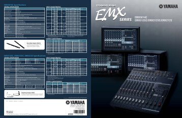 powered mixer series emx5014c emx512sc ... - Full Compass