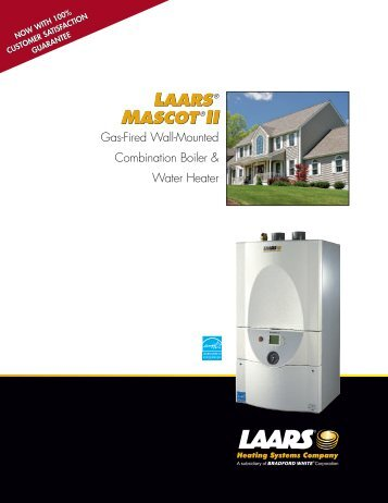 laars® mascot®ii laars® mascot®ii - Boston Heating Supply
