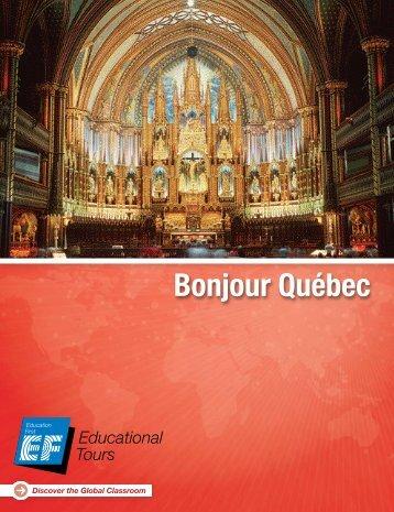 Bonjour Québec - EF Educational Tours