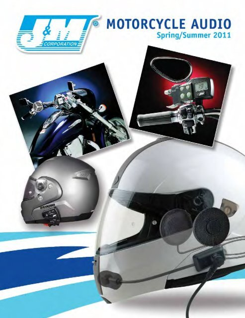 J/&M Performance Series Integrated Headset for the Nolan N-102 N-Com Helmet