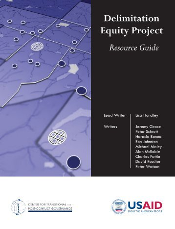 Delimitation Equity Project Resource Guide - IFES