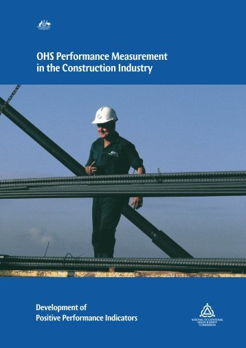 OHS Performance Measurement in the Construction Industry
