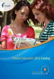 Fourier Education 2012 Catalog