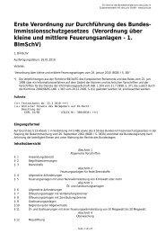 1. BImSchV - Gesetze im Internet