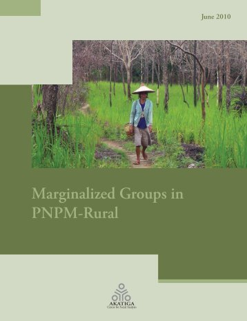 Marginalized Groups in PNPM-Rural - psflibrary.org