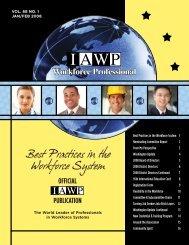 IAWP inside2 - International Association of Workforce Professionals
