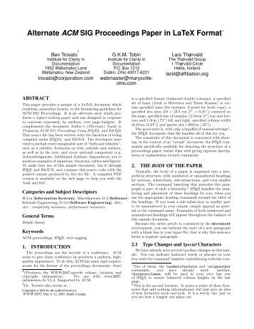 Acm format of research paper - thesistemplate.web.fc2.com