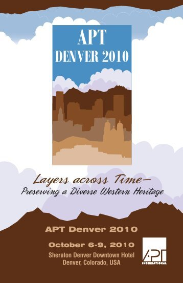 2010 Annual Conference - The Association For Preservation ...