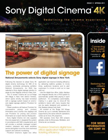 Issue 11 - Spring 2011 - Sony