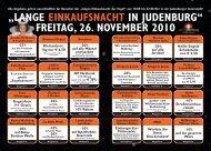 """""""LANGE EINKAUFSNACHT IN JUDENBURG"""" FREITAG, 26 ..."""