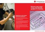 Bantuan bagi orang - Australian Red Cross