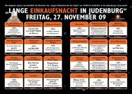"""""""LANGE EINKAUFSNACHT IN JUDENBURG"""" FREITAG, 27 ..."""