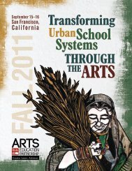 Transforming - Arts Education Partnership
