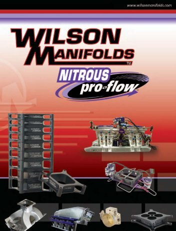For nearly 30 years, Wilson Manifolds has consistently helped