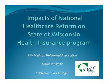 PowerPoint Slides - Retirement Association