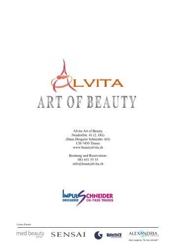 finden Sie die Preisliste… - alvita