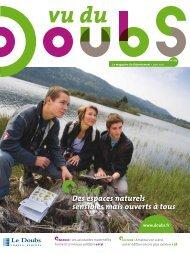 dossier - Vu du Doubs - Conseil général du Doubs