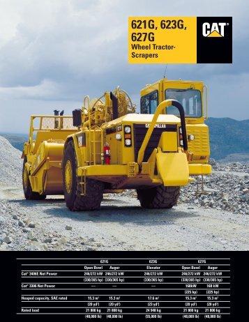 Wheel Tractor Scrapers - AEHQ5412