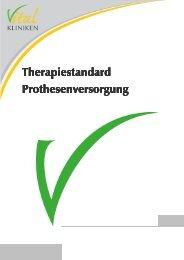 Therapiestandard Prothesenversorgung - in den Vital-Kliniken