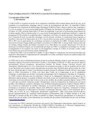 Versión final 18/12/01 - Centro de Investigaciones del Mar y la ...