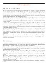 Teil I: Adventgeschichten