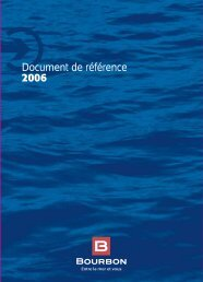 2006 Document de référence - Bourbon