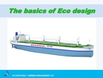 The basics of Eco design