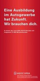 AGVS-Lehrlingsflyer (1 MB PDF) - MAN Truck & Bus Schweiz AG