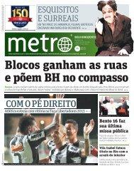 COM O PÉ DIREITO - Metro