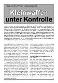Kleinwaffen unter Kontrolle - Schweizerischer Friedensrat - Page 3