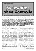 Kleinwaffen unter Kontrolle - Schweizerischer Friedensrat - Page 6