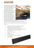 Komfortable Strahlungsheizer mit einem ansprechendem ... - ELKUME - Seite 2