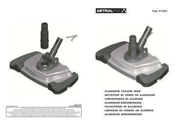 aluminium vacuum head nettoyeur de fonds en ... - VitaPiscine