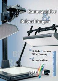 digitale analoge Bilderfassung Reproduktion für ... - Kaiser Fototechnik