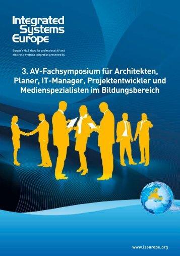 3. AV-Fachsymposium für Architekten, Planer, IT-Manager ...