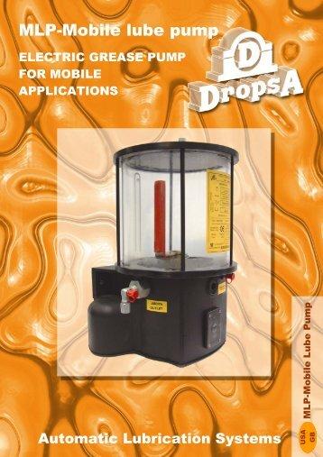MLP-Mobile lube pump - Lubeline