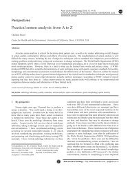 Practical semen analysis: from A to Z - Asian Journal of Andrology
