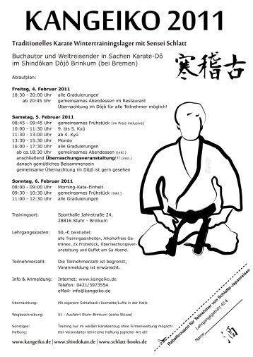 Info - Karate-Dojo Bonn