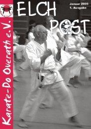 Januar 2005 1. Ausgabe - Karate-Do Overath e.V.