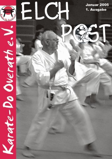 Januar 2005 1. Ausgabe - Karate-Do Overath e.V.