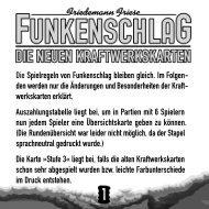 Die deutsche Spielanleitung - 2F-Spiele